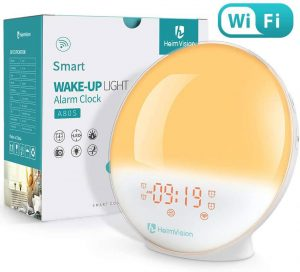 HeimVision Sunrise Alarm Clock with box