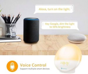 HeimVision Sunrise Alarm Clock and smart speaker