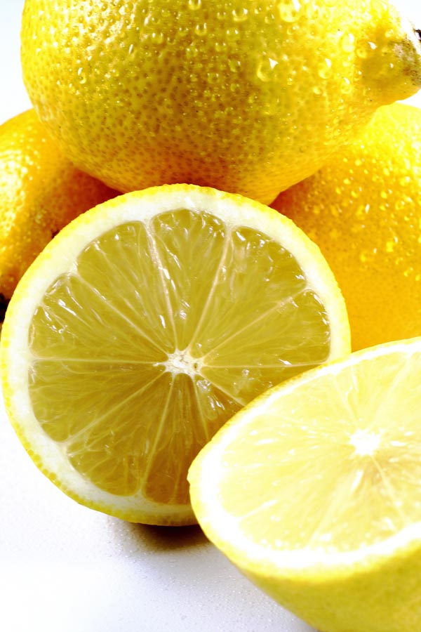 Cut lemon
