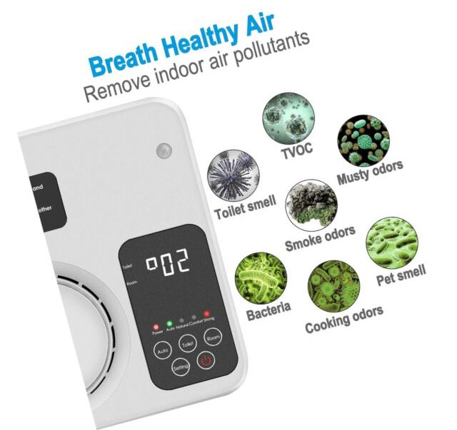 TREKOO Ozone Generator features