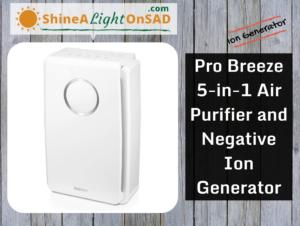 Pro Breeze Negative Ion Generator header