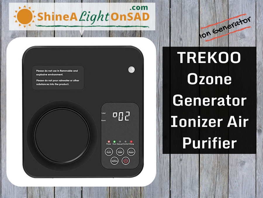 TREKOO Ozone Generator header