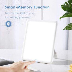 TaoTronics Light Therapy Lamp inside
