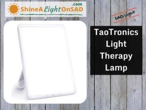 TaoTronics Light Therapy Lamp header