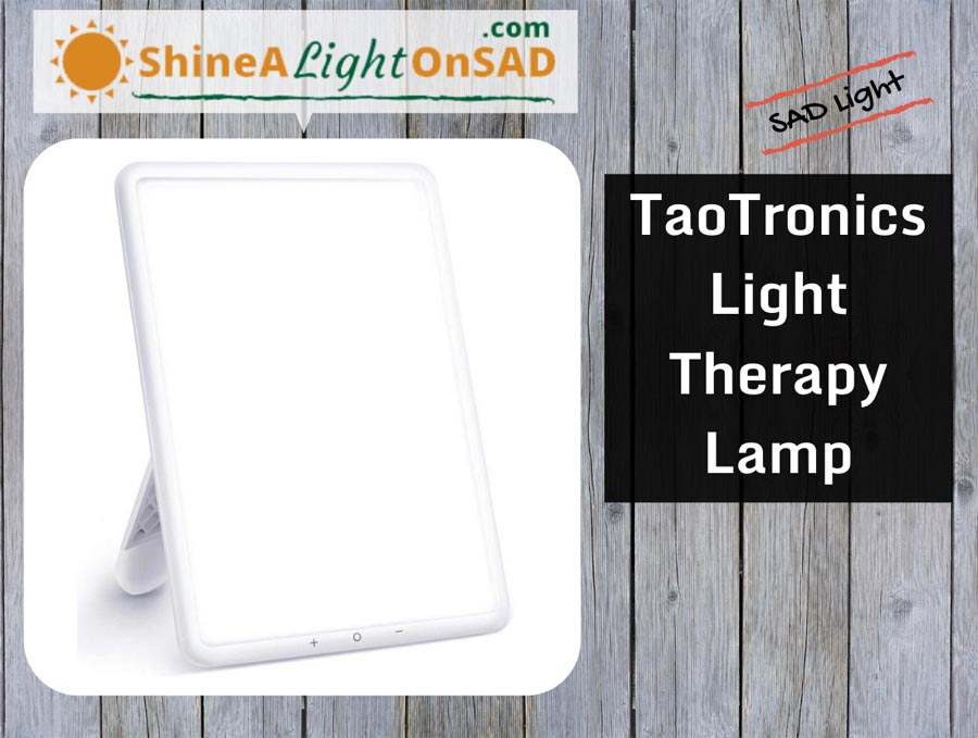 TaoTronics Light Therapy Lamp header